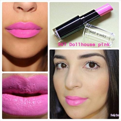 ขายของแท้เท่านั้น Wet n Wild Mega Last Lip Color 3.3 g #967 Dollhouse Pink ชมพู ตุู๊กตามากๆค่ะ เนื้อลิปแมทกำลังดี ติดทนนาน