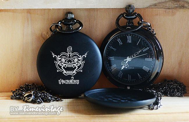 นาฬิกาลายไทย