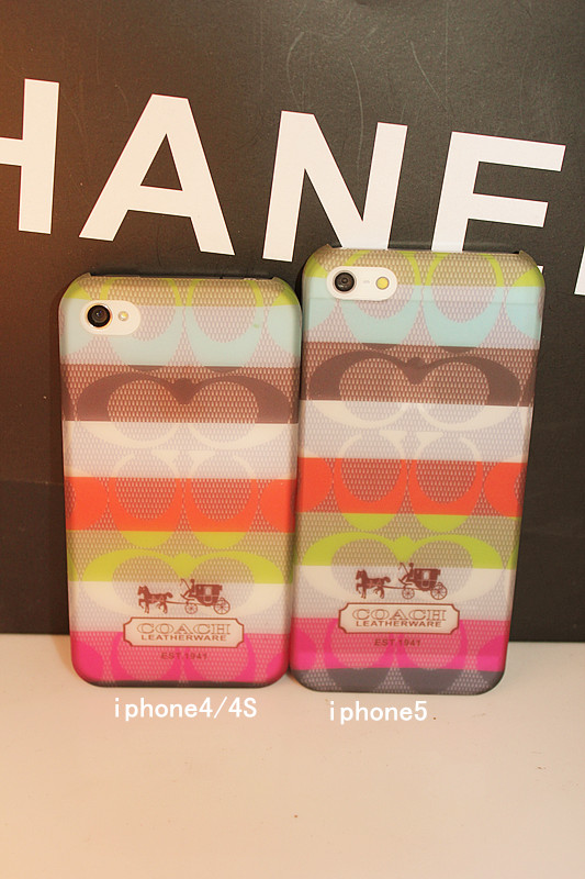 พร้อมส่งจ้า COACH iphone case สำหรับ 4/4s และ 5/5s