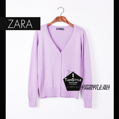 """Coat-113 เสื้อคลุมZara สีม่วง ผ้านิ่มมากกก อันนี้ นำเสนอ จ้า สวยใส่สบาย อก 36"""" ยาว 24"""" (เสื้อคลุมพร้อมส่ง)"""