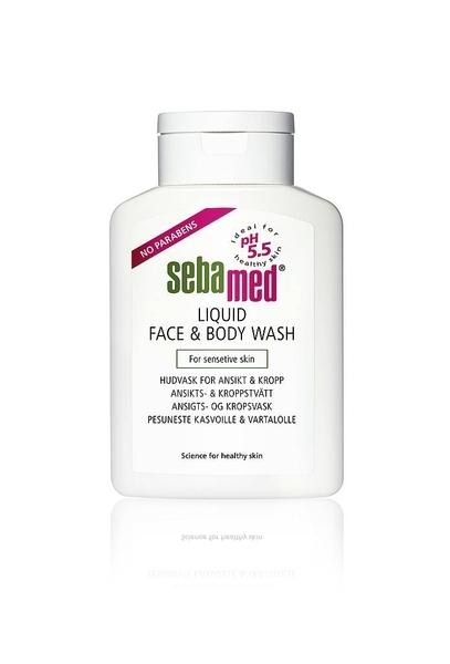 Sebamed Liquid Face & Body Wash 1000 ml