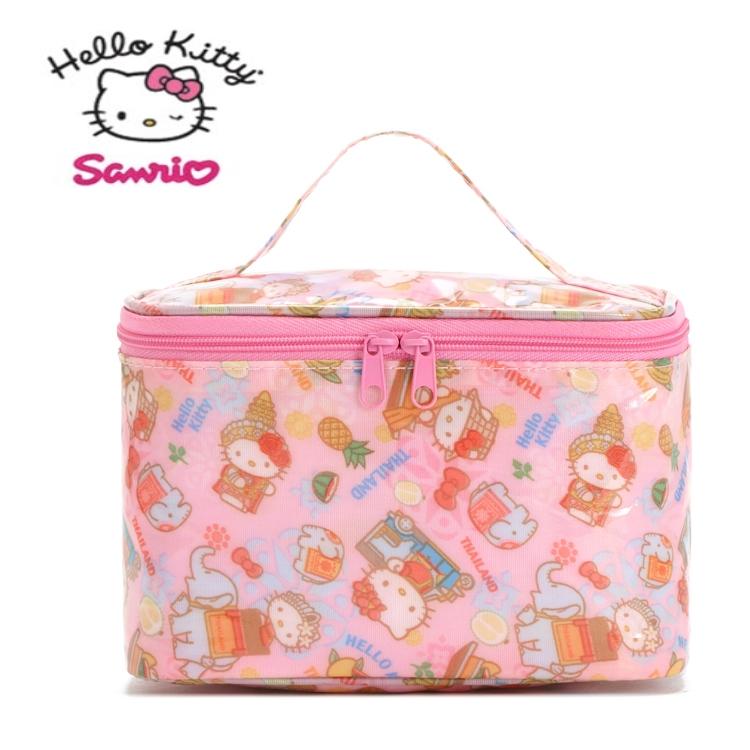 พร้อมส่งค่ะ กระเป๋าเครื่องสำอางค์ Hello Kitty bunny ทรงรี