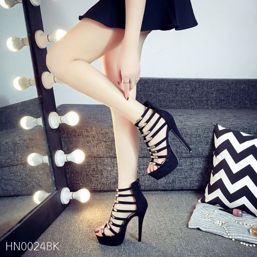 Pre รองเท้าคัทชู ส้นสูง แฟชั่น Hi end งานสวยมาก มีไซด์ 34-38