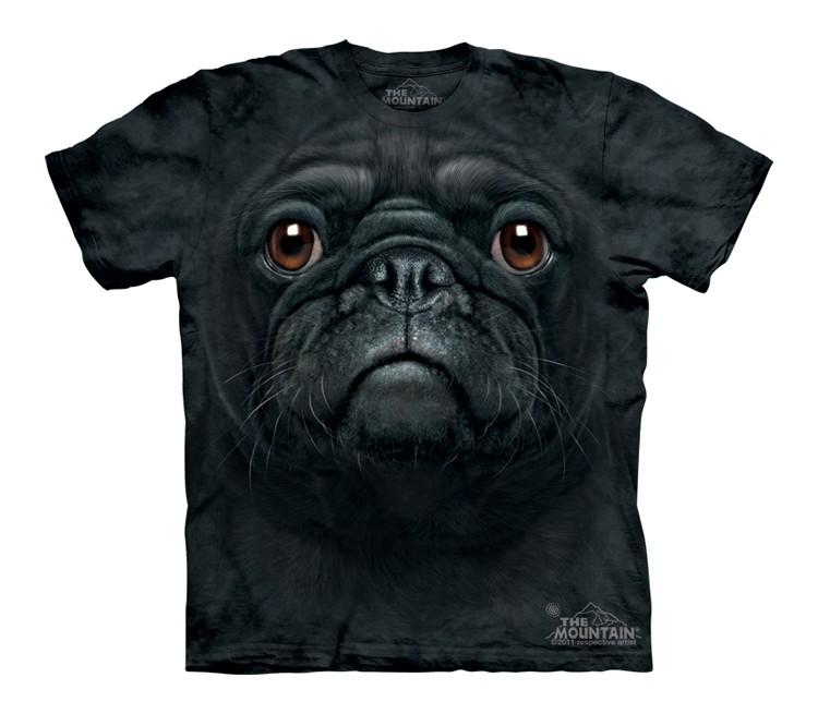 Black Pug Face - Youth