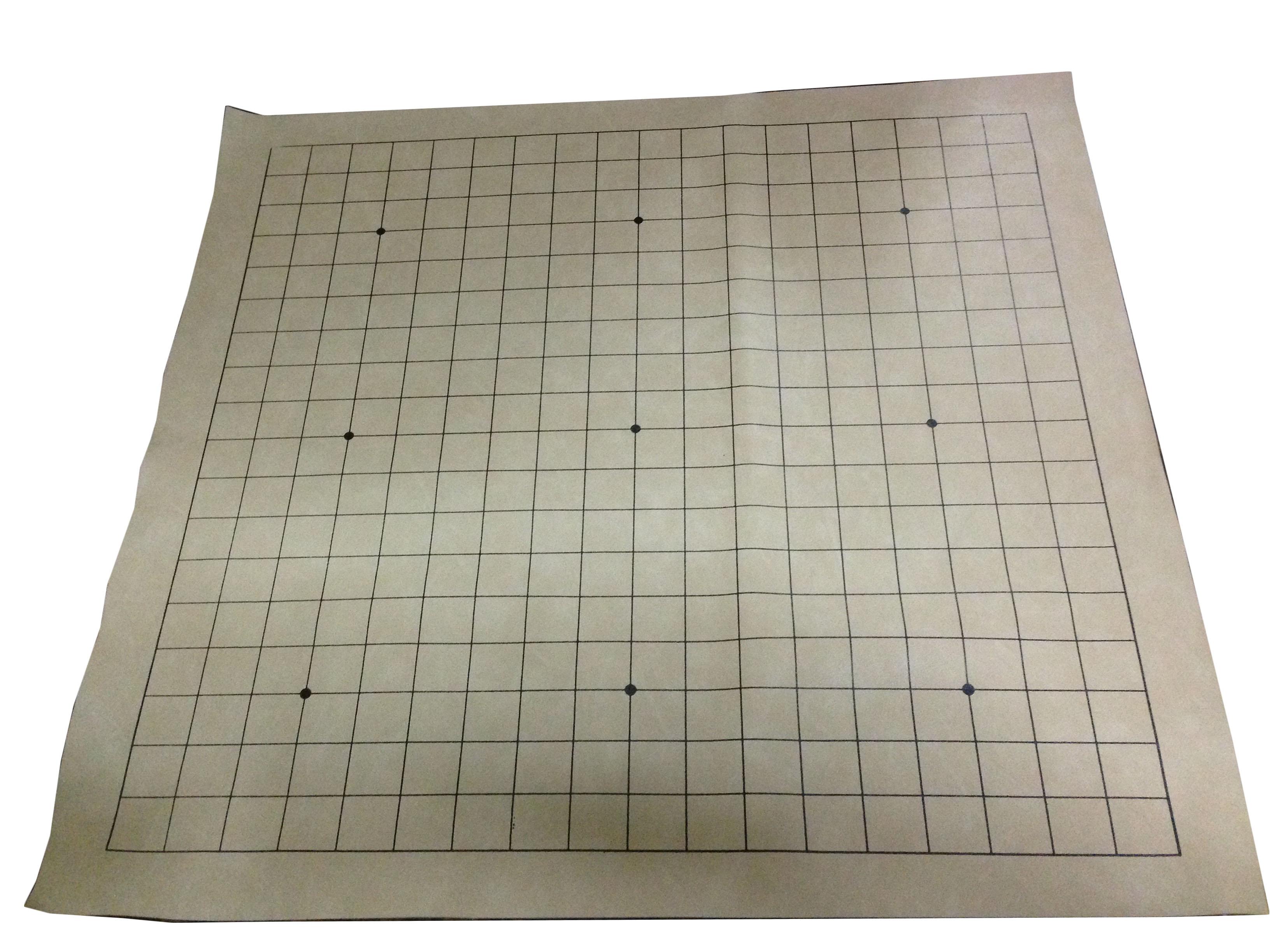 กระดานหมากล้อมผ้า19x19เส้น