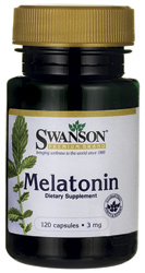 Swanson Ultra - Melatonin 3 mg 120 Capsules