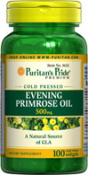 Puritan's Pride Evening Primrose Oil 500 mg with GLA