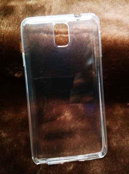case Samsung Note3 ยางใส