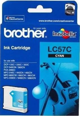 BROTHER INK CARTRIDGE LC-57C สีฟ้า