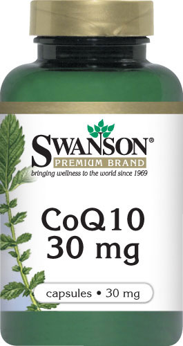 Swanson vitamins - CoQ10 30 mg 240 Capsules