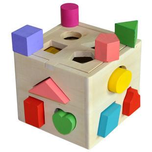 กล่องหยอดรูปทรงเรขาคณิต