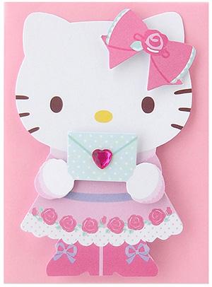 พร้อมส่ง Sanrio Hello Kitty mini standing card