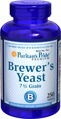 Puritan's Pride - Brewer's Yeast 500 mg 250 Tablets
