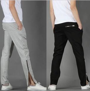 กางเกงผ้ายืดแฟชั่นขายาว