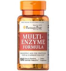 Puritan's Pride Multi Enzyme / 100 Tablets