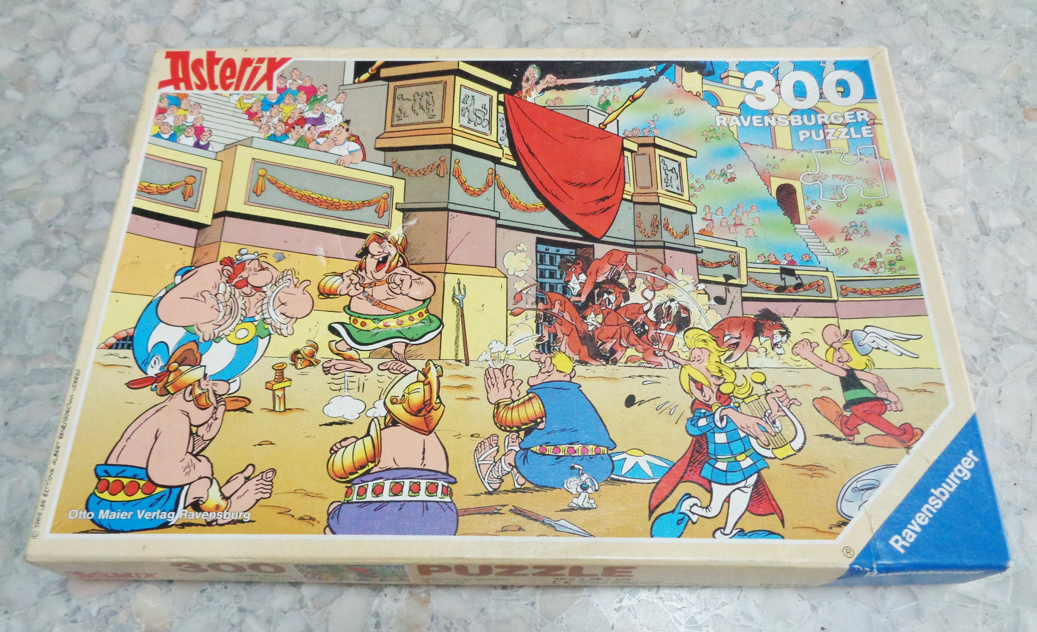 Jigsaw Puzzle Asterix Ravensburger West Germany 1990