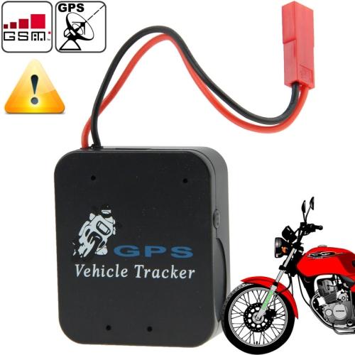Multi-Function LBS SMS / GPRS Motorcycle TX-9B+ (Black) GPS Tracking
