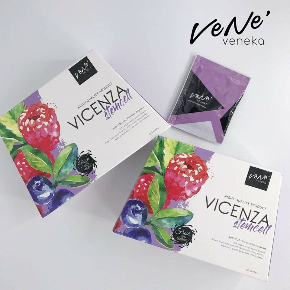 VICENZA Stemcell By Vene' Veneka เวเน่ เวเนก้า บรรจุ 15 ซอง