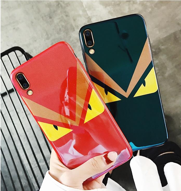 (731-001)เคสโทรศัพท์มือถือหัวเว่ย Case Huawei P20 Pro เคสนิ่มแฟชั่นบลูเรย์ดวงตา