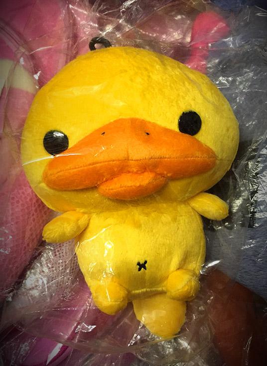 ตุ๊กตาตุ่นปากเป็ด kamonohashikamo 35 cm