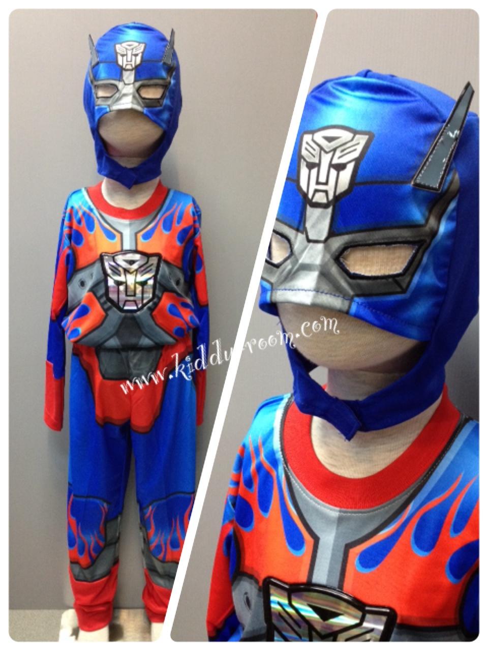หีเด็ก10ขวบ Optimus Prime (งานลิขสิทธิ์) ชุดแฟนซีเด็กออพติมัส ไพร์