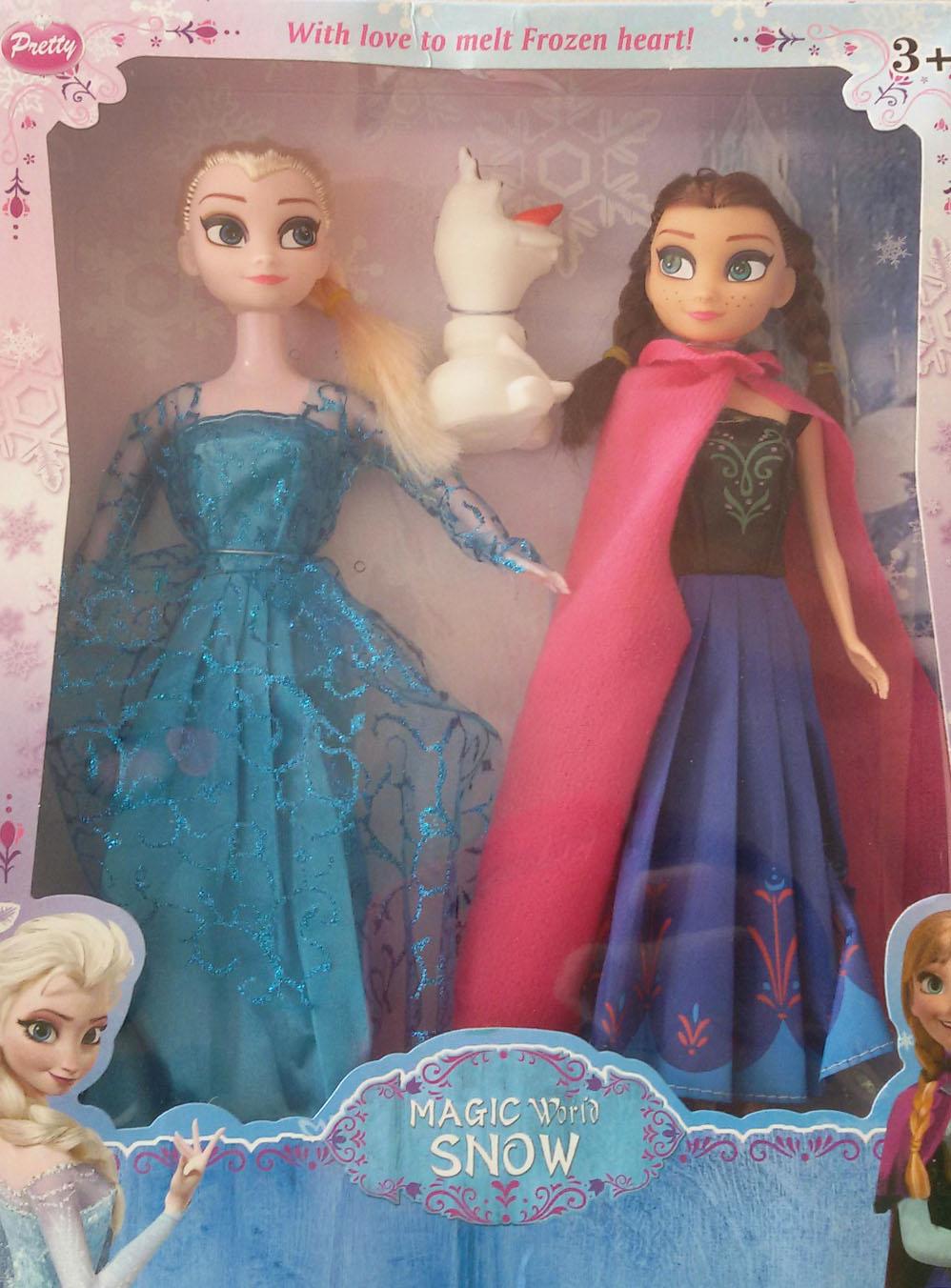 ตุ๊กตาเจ้าหญิงเอลซ่า เจ้าหญิงอันนา