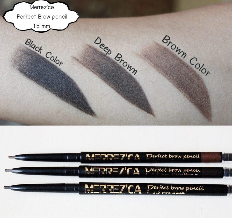 Merrez'ca Perfect Brow pencil เมอร์เรซกา ดินสอเขียนคิ้ว