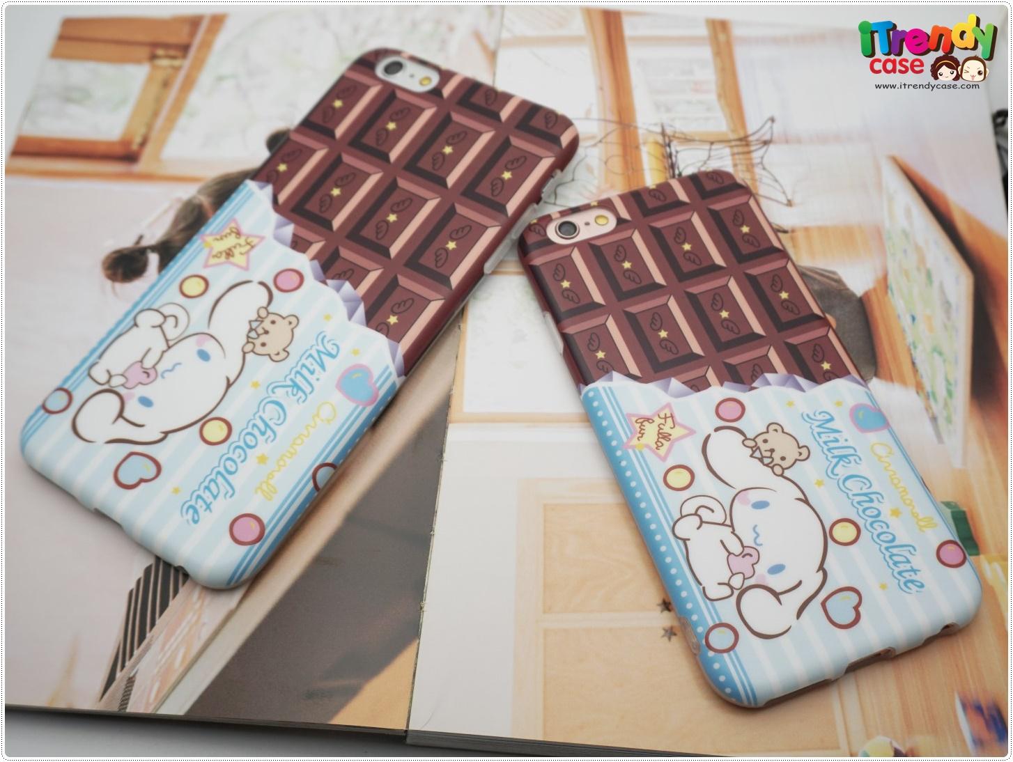 iPhone 7 - เคส TPU ลาย Cinnamoroll Milk Chocolate