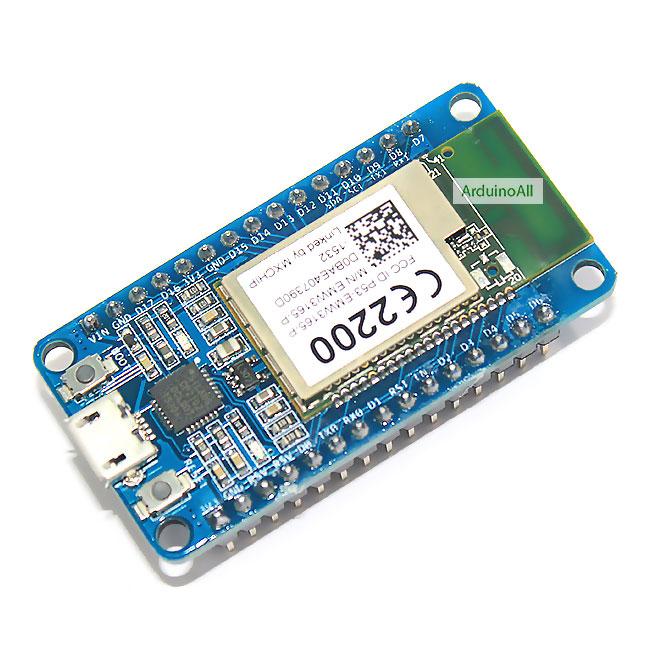 WiFiMCU Development Board with EMW3165