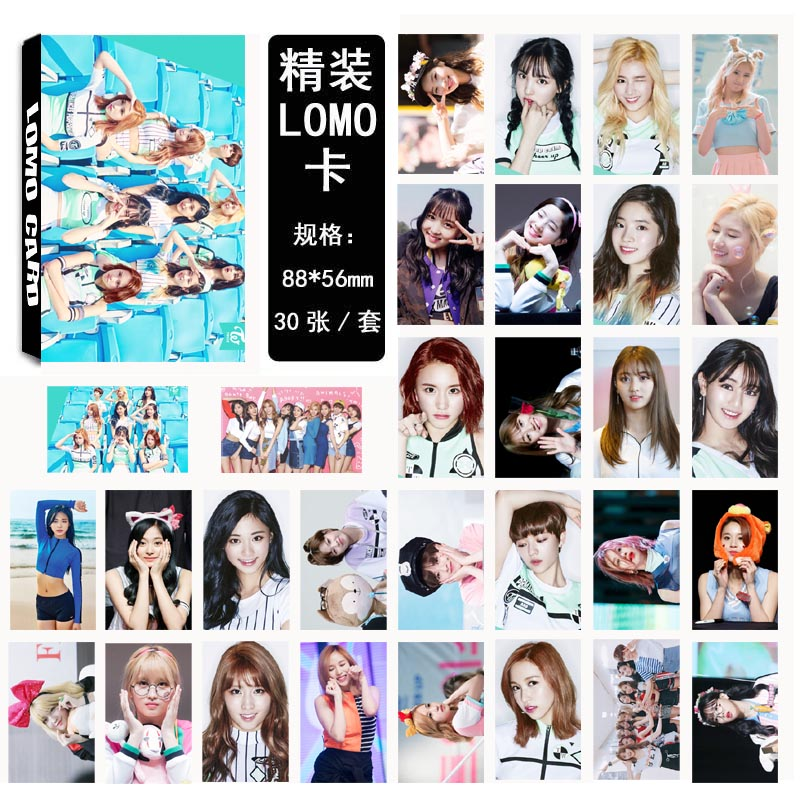 Lomo card set TWICE (30pc)