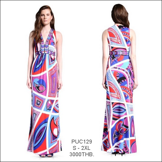 PUC129 Preorder / EMILIO PUCCI DRESS STYLE