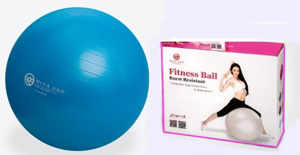 Gym Ball (65cm - Deep Blue)