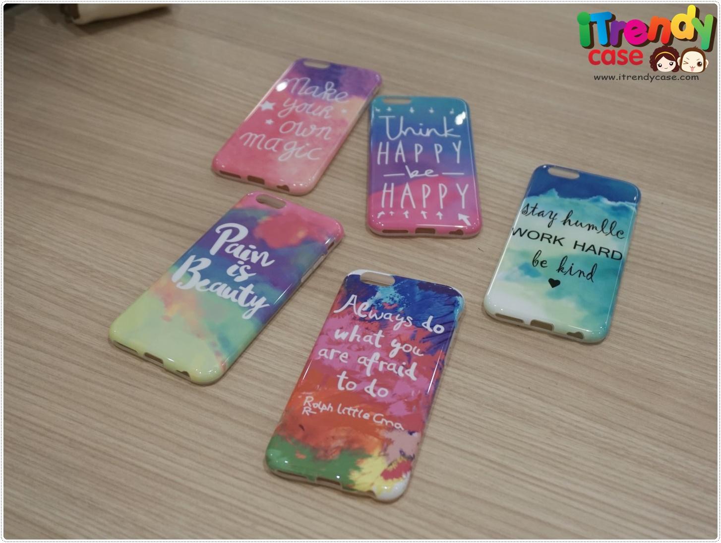 iPhone 7 - เคสใส TPU ลาย Dream Paradise Sky case