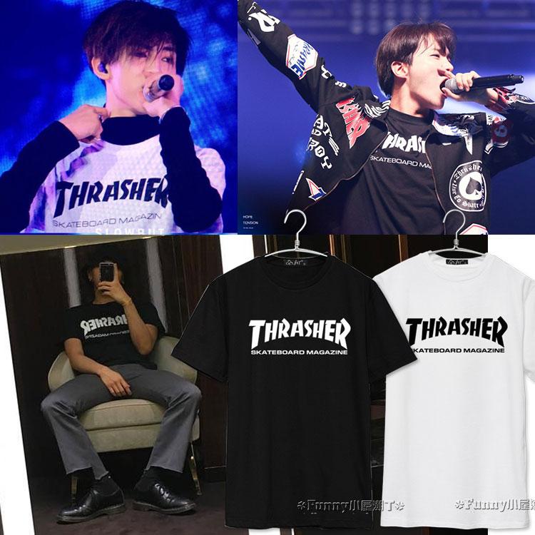 เสื้อยืด THRASHER Sty.GOT7 -ระบุสี/ไซต์-