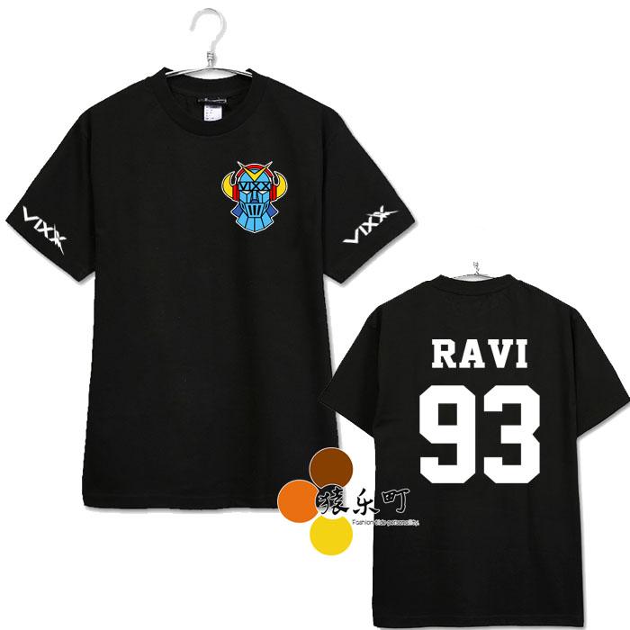 เสื้อยืด VIXX name member -ระบไซต์/สมาชิก-