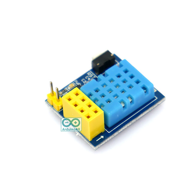 DHT11 Module for ESP8266-01/01S เซนเซอร์ความชื้นและอุณหภูมิ DHT11 สำหรับ ESP8266 รุ่น 01/01S