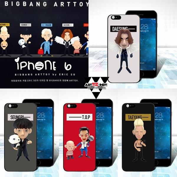 เคสไอโฟน 6 BIGBANG ARTTOY -ระบุสมาชิก-