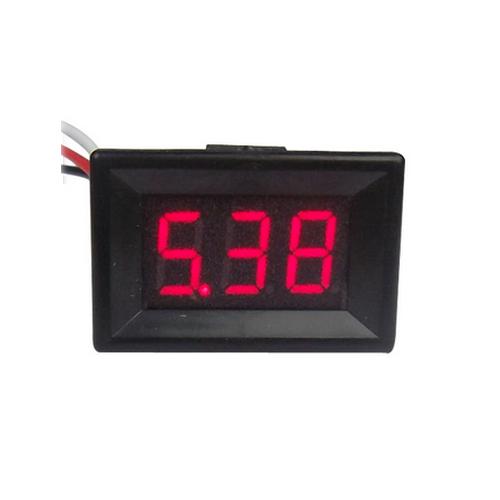 "DC volt meter 0.36"" 0-100V โวลต์มิเตอร์ 0-100V ขนาด 0.36 นิ้ว สีแดง"