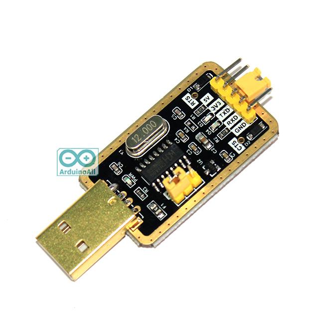 โมดูล USB TTL CH340 แปลง USB เป็นสัญญาณ TTL