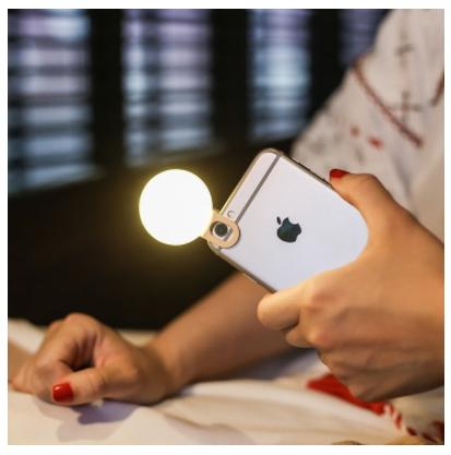 Maoxin LED Selfie Light ไฟส่องเซลฟี่ ใช้ได้กับมือถือทุกรุ่น แท้