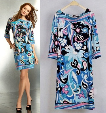 PUC112 Preorder / EMILIO PUCCI DRESS STYLE