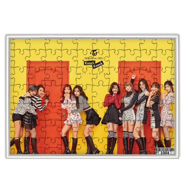 จิ๊กซอ+กรอบรูป TWICE coaster LANE 2
