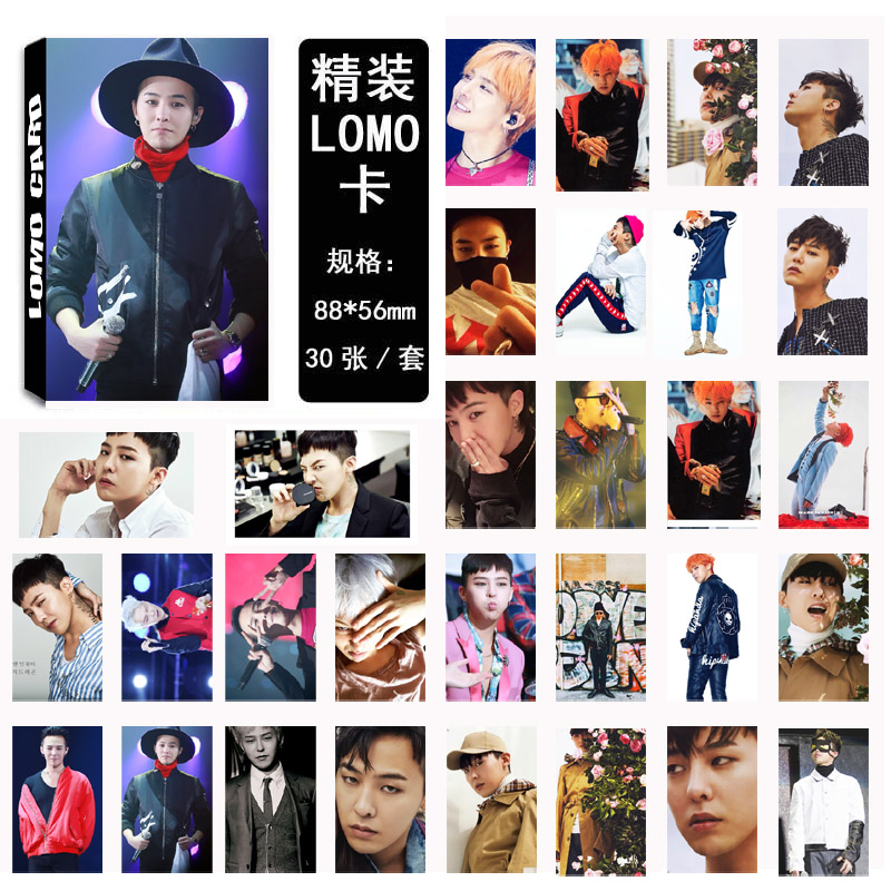 Lomo Card set G-Dragon 02 (30pc)