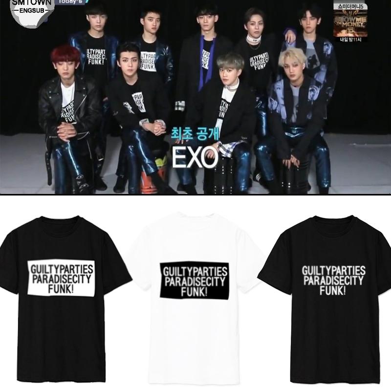 เสื้อยืด GUILTYPARTIES Sty.EXO M Countdown -ระบุสี/ไซต์-