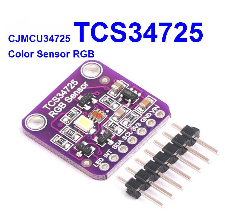 CJMCU-34725 TCS34725 Color Sensor RGB color sensor development board module