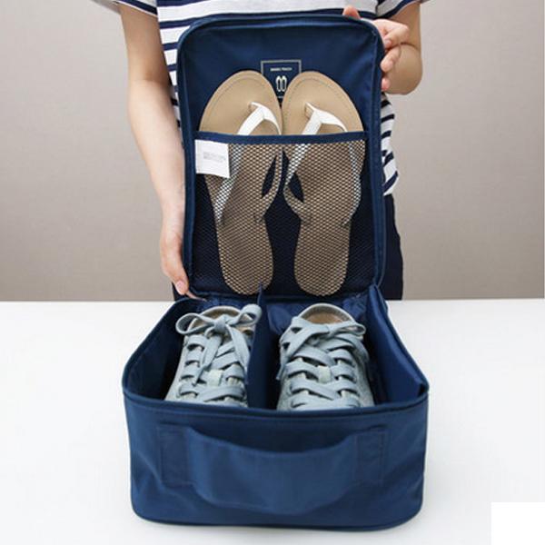 *Pre Order* NAKURU Limited Fashion กระเป๋าใส่รองเท้าผ้าโพลีเอสเตอร์กันน้ำ