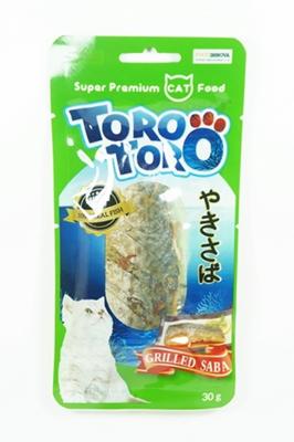 ขนมแมว Toro Toro ซาบะย่าง