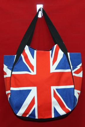ทรงชาม ลายธงชาติอังกฤษ