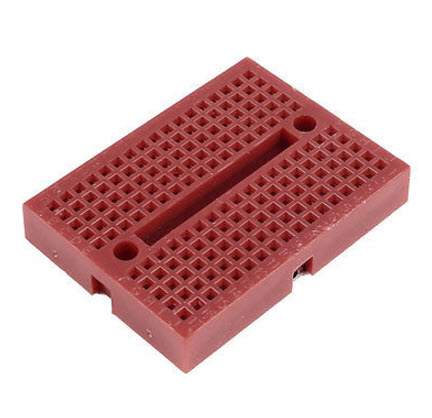 SYB-170 breadboard RED mini small bread plate (170 hole)