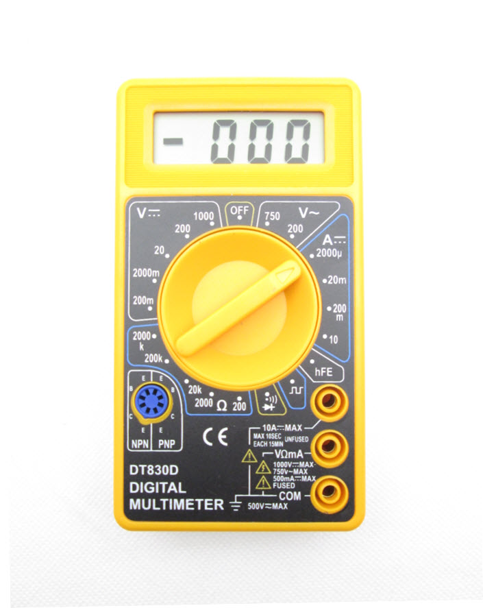 DT830D DT-830D Digital Multimeter